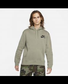 Nike SB Herren Pullover Icon Skate Hoodie Light Army / Black
