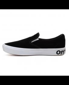VANS Unisex Schuhe ComfyCush Slip-On (DISTORT) Black / True White