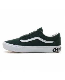 VANS Unisex Schuhe ComfyCush Old Skool (DISTORT) Grey / True White