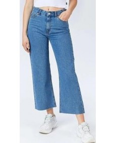 DR. DENIM Damen Hose Cadell Retro Sky Blue