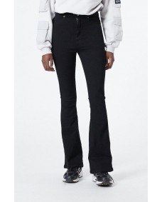 DR. DENIM Damen Jeans Moxy Flared Black