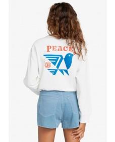 ELEMENT Damen Sweatshirt Dove Crew Off White