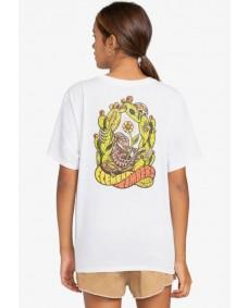 ELEMENT Damen T-Shirt Pick Your Poison Optic White