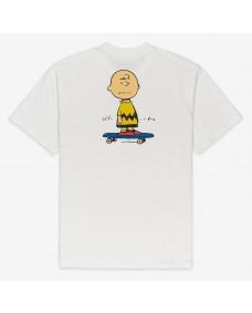 ELEMENT Herren T-Shirt Peanuts Kruzer Off White