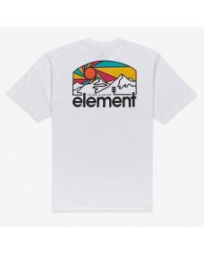 ELEMENT Herren T-Shirt Sunnet Optic White
