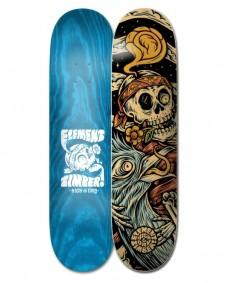 """ELEMENT Skateboard Deck 8.25"""" Timber High Dry Skull"""