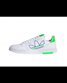ADIDAS Herren Schuhe Supercourt White / Green / Purple