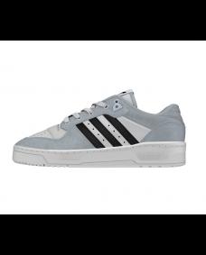 ADIDAS Herren Schuhe Rivalry Low Black / White / Grey