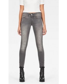 G-STAR Damen Hose Lynn Mid Skinny Faded Industrial Grey