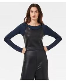 G-STAR Damen Jumpsuit Glossy Dark Black