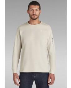 G-STAR Herren Sweatshirt Korpaz Pocket Whitebait
