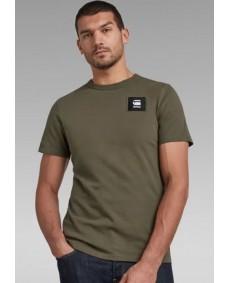 G-STAR Herren T-Shirt Badge Logo Combat