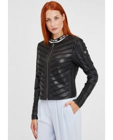 GIPSY Damen Lederjacke Suri Short Elegance Black