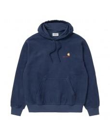 CARHARTT WIP Herren Sweatshirt Hooded Contra Blue
