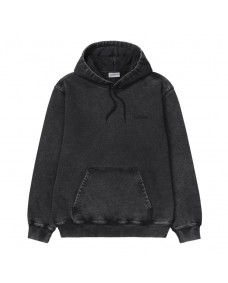 CARHARTT WIP Herren Sweatshirt Hooded Mosby Script Black