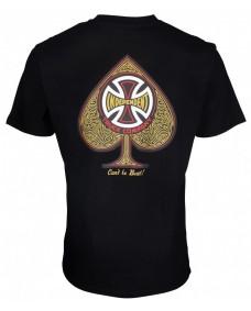 INDEPENDENT Herren T-Shirt Cross Spade Black