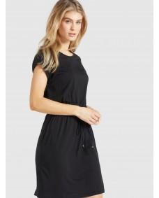 KHUJO Damen Kleid Sammy Black