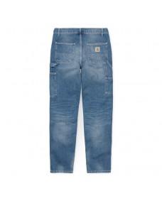 CARHARTT WIP Herren Hose Ruck Single Knee Pant Blue Mid Used Wash