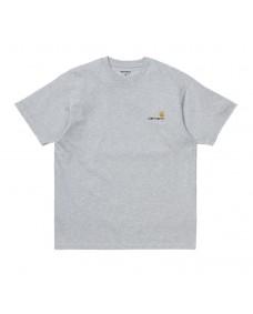 CARHARTT WIP Herren T-Shirt American Script Ash Heather