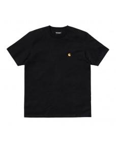 CARHARTT WIP Herren T-Shirt Chase Black / Gold