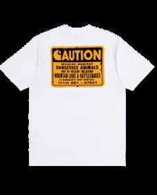CARHARTT Herren T-Shirt Rattlesnakes White