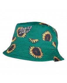 SANTA CRUZ Herren Bucket Hat Sunflowers Black/Sunflower Print