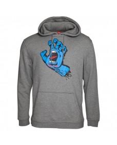 Santa Cruz Herren Sweatshirt Screaming Hand Dark Heather