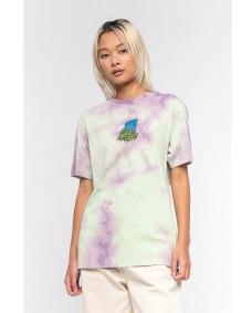 SANTA CRUZ Damen T-Shirt Bigfoot Screaming Hand Trippy Cloud