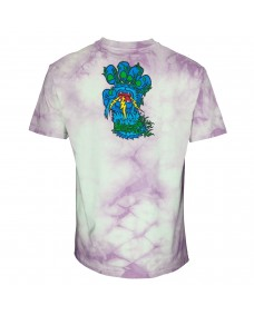 SANTA CRUZ Herren T-Shirt Bigfoot Screaming Hand Trippy Cloud