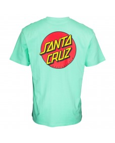 SANTA CRUZ Herren T-Shirt Classic Dot Chest T-Shirt Jade Green