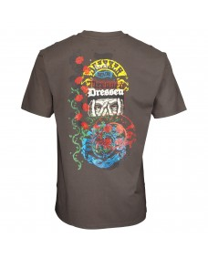 SANTA CRUZ Herren T-Shirt Dressen Archive Washed Black