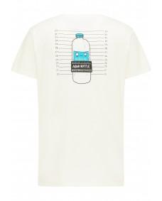SOMWR Herren T-Shirt Arrested Undyed Bottle