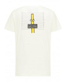 SOMWR Herren T-Shirt Arrested Undyed Stroke