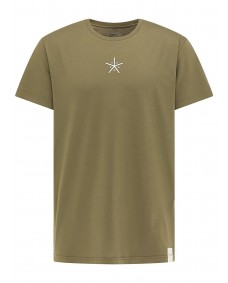 SOMWR Herren T-Shirt Asterisk Ivy Green
