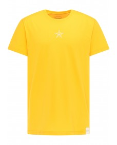 SOMWR Herren T-Shirt Asterisk Saffron Yellow