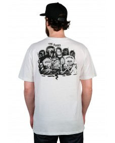 THE DUDES Herren T-Shirt Helles In Hell Off-White