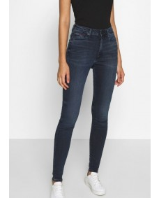 TOMMY HILFIGER Damen Jeans High Rise Super Skinny Ankle Sylvia Gia Dark Blue