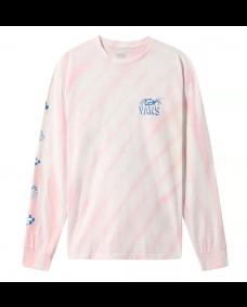 VANS Herren Longsleeve Widow Maker Tie Dye Cool Pink