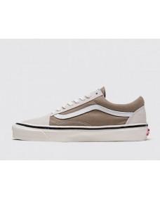 VANS Unisex Schuhe Old Skool 36 DX (ANAHEIMFCTY) OG White
