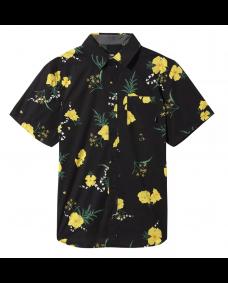 VANS Herren Hemd Super Bloom Floral Black