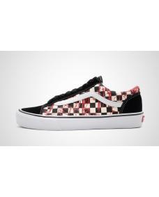 VANS Unisex Schuhe Style 36 Checkerboard / Red