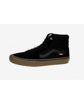 VANS Unisex Schuhe Sk8-Hi Pro Black / Gum