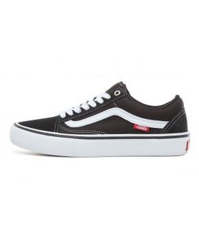 VANS Unisex Schuhe Old Skool Pro Black / White