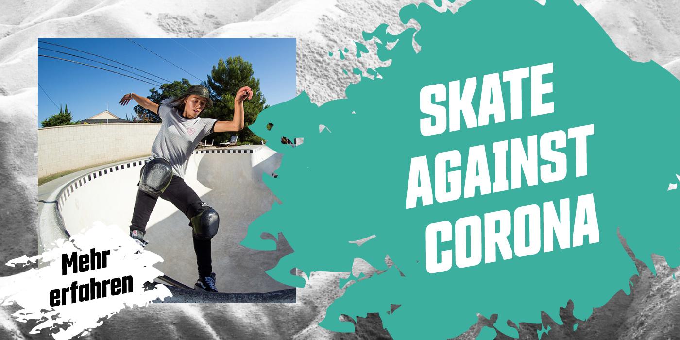 Skate against Corona